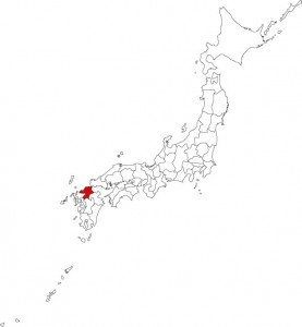 Map of Yame